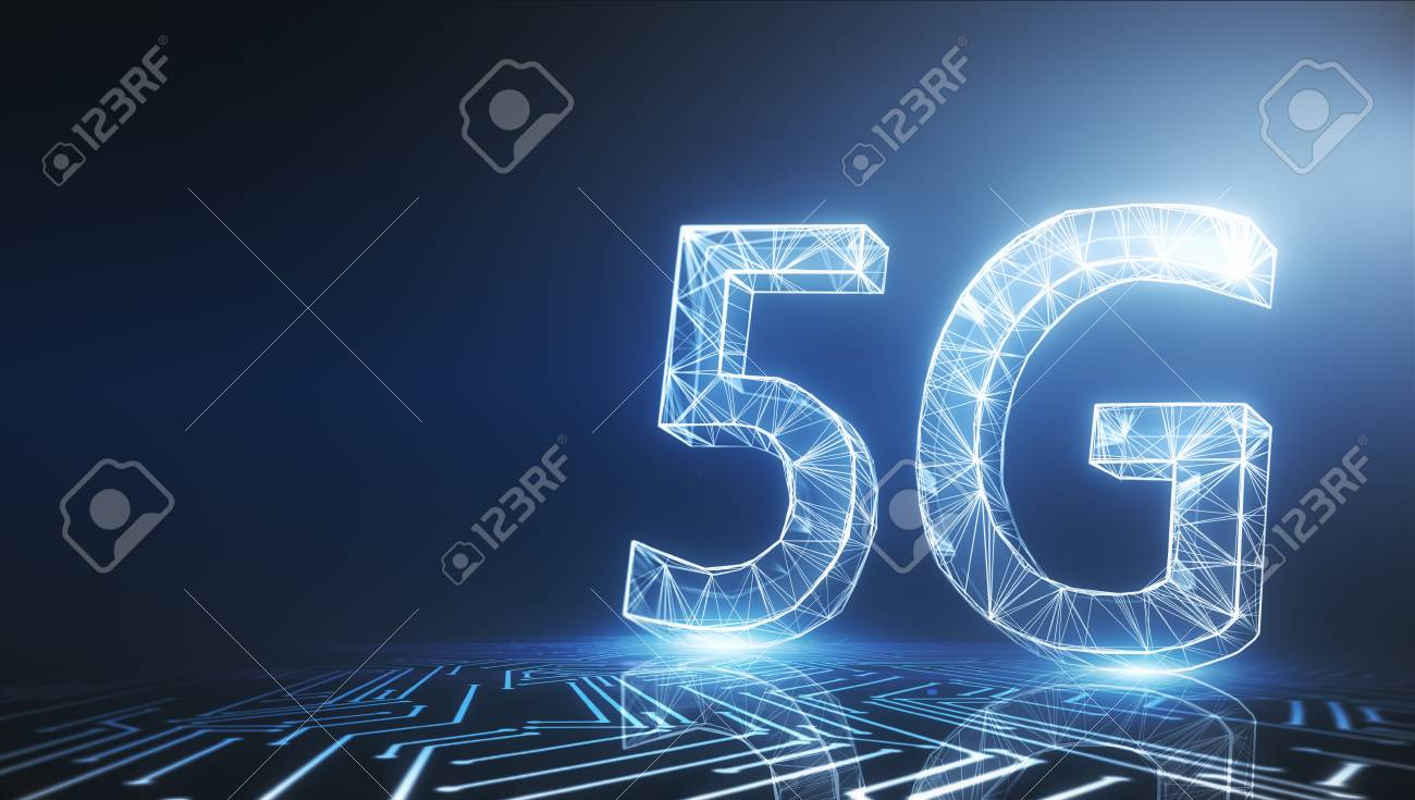 Creative glowing 5G